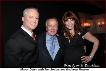 Blog 3 - Mayor with Tim Smithe and Kathleen Henson