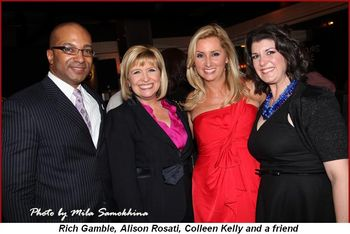 Blog 5 - Rich Gamble, Alison Rosati, Colleen Kelly and friend
