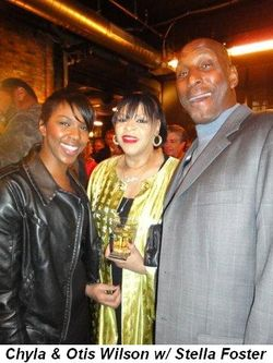 Blog 10 - Chyla and Otis Wilson with Stella Foster