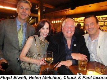 Blog 16 - Chuck with Floyd Elwell, Helen Melchior and Paul Iacono