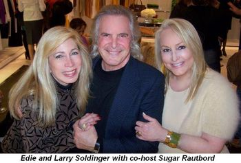 Blog 1 - Co-Host Sugar Rautbord with Edie and Larry Soldinger