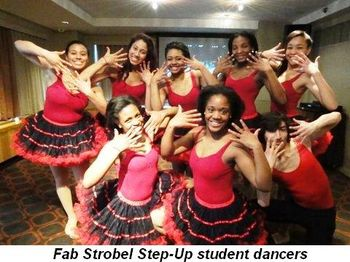 Blog 5 - Fab Strobel Step-Up Student dancers
