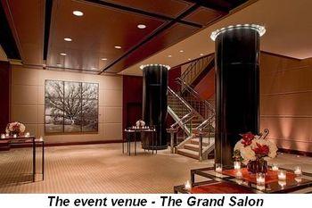 The event venue—The Grand Salon