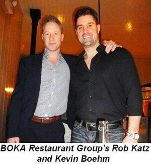 Blog 1 - BOKA Restaurant Group's Rob Katz and Kevin Boehm