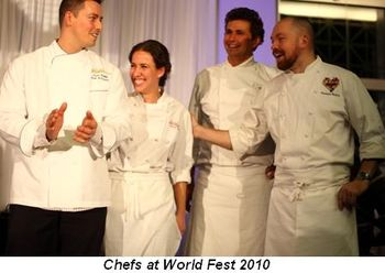 Blog 5 - Chefs at World Fest 2010