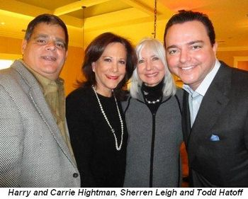 Blog 4 - Harry and Carrie Hightman, Sherren Leigh and Todd Hatoff