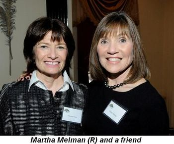 Blog 8 - Martha Melman (R) and friend