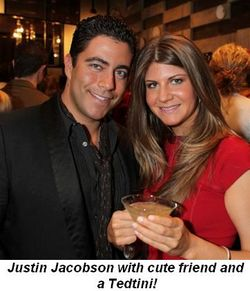 Blog 7 - Justin Jacobson with cute friend and a Tedtini!