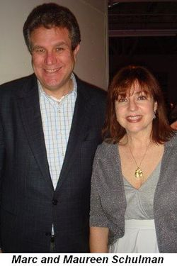 Blog 2 - Marc and Maureen Schulman