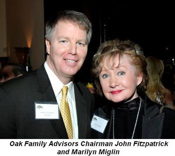 Blog 5 - Oak Financial Advisors Chairman John Fitzpatrick and Marilyn Miglin