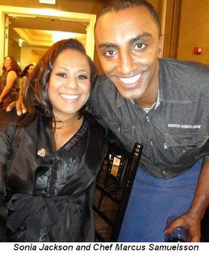 Blog 5 - Sonya Jackson and Chef Marcus Samuelsson
