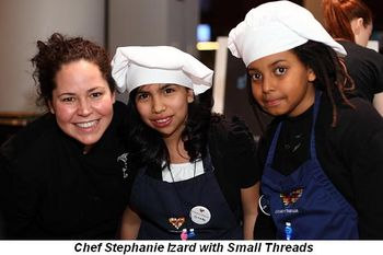 Blog 20 - Chef Stephanie Izard with Small Threads