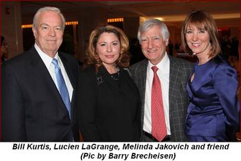 Blog 2 - Bill Kurtis, Lucien LaGrange, Melinda Jakovich and friend (Pic by Barry Brecheisen)