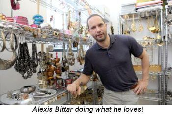 Blog 1 - Alexis Bittar doing what he loves!