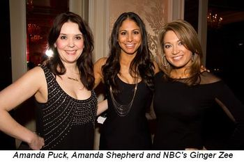 Blog 1 - Amanda Puck, Amanda Shepherd and NBC's Ginger Zee
