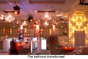 Blog 2 - The ballroom transformed