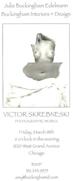 Skrebneski exhibit