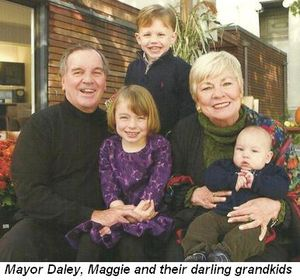 Blog 2 - Mayor Daley, Maggie and darling grandkids