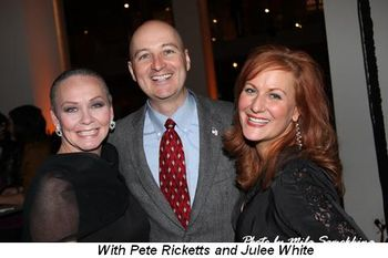 Blog 12 - With Pete Ricketts and Julee White