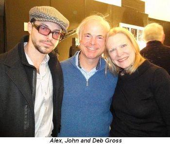 Blog 5 - Alex, John and Deb Gross