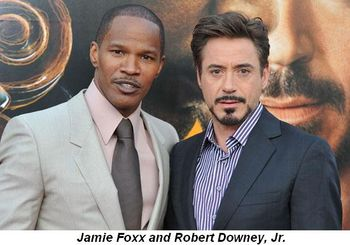 Blog 2 - Jamie Foxx and Robert Downy, Jr.
