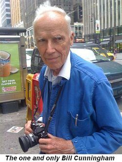 Blog 1 - The one and only Bill Cunningham