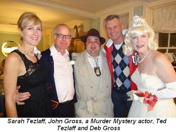 Blog 2 - Sarah Tetzlaff, John Gross, actor, Ted Tetzlaff and Deb Gross