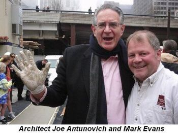 Blog 4 - Architect Joe Antunovich and Mark Evans