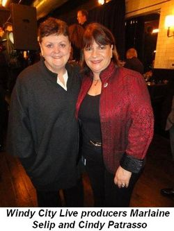Blog 12 - Windy City Live producers Marlaine Selip and Cindy Patrasso