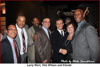 Larry Wert, Otis Wilson and friends