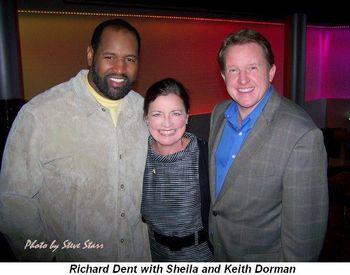 Blog 5 - Richard Dent, Sheila and Keith Dorman