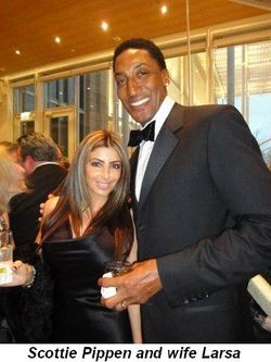 Blog 5 - Scottie Pippen and wife Larsa