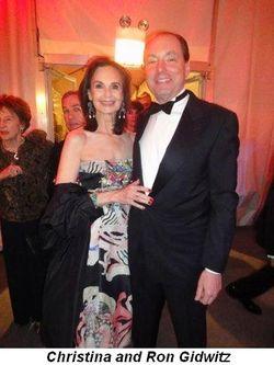 Blog 13 - Christina and Ron Gidwitz