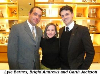 Blog 3 - Lyle Barnes, Brigid Andrews and Garth Jackson