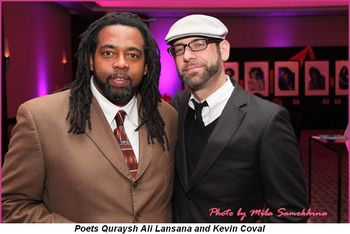Blog 8 - Poets Quraysh Ali Lansana and Kevin Coval