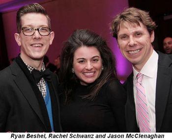 Blog 14 - Ryan Beshel, Rachel Schwanz and Jason McClenaghan