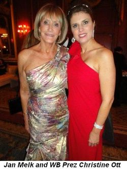 Blog 8 - Jan Melk and WB Prez Christine Ott