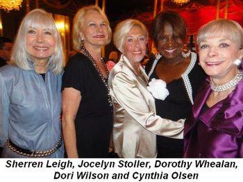 Blog 7 - Sherren Leigh, Jocelyn Stoller, Dorothy Whealan, Dori Wilson and Cynthia Olsen