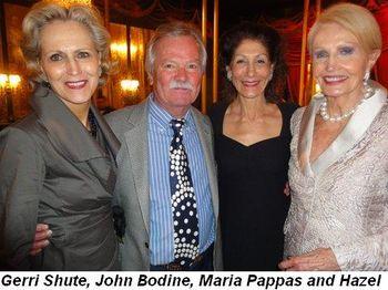 Blog 9 - Gerri Shute, John Bodine, Maria Pappas and Hazel