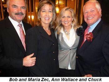 Blog 13 - Bob and Maria Zec, Ann Wallace and Chuck