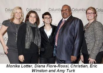 Blog 2 - Monika Lotter, Diana Fiore-Rossi, Christian, Eric Winston and Amy Turk