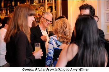 Blog 3 - Gordon Richardson talking to Amy Wimer