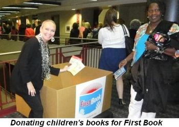 Blog 44 - Donating children's books for First Book