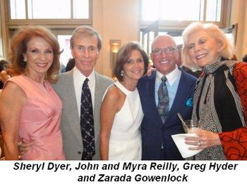 Blog 3 - Sheryl Dyer, John and Myra Reilly, Greg Hyder and Zarada Gowenlock