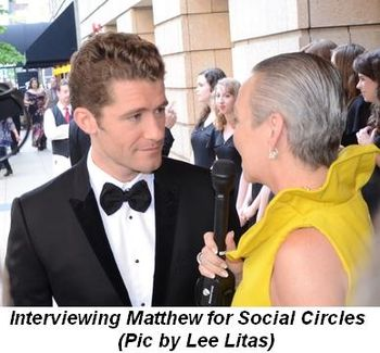 Blog 3 - Interviewing Matthew for Social Circles (Pic by Lee Litas)