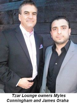 Blog 4 - Tzar Lounge owners Myles Cunningham and James Oraha