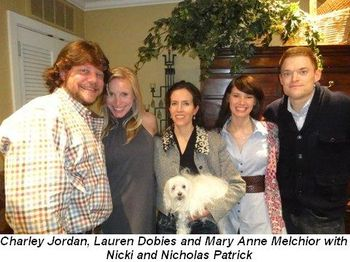 Blog 2 - Charley Jordan, Lauren Dobies, Mary Anne Melchior, Nicki and Nicholas Patrick