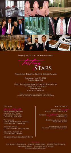 Tasting Stars Invitation