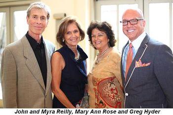 Blog 3 - John and Myra Reilly, Mary Ann Rose, Greg Hyder