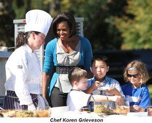 Blog 3 - Chef Koren Grieveson